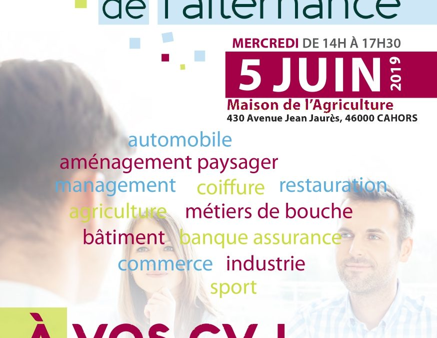 JOB DATING DE L'ALTERNANCE 2019