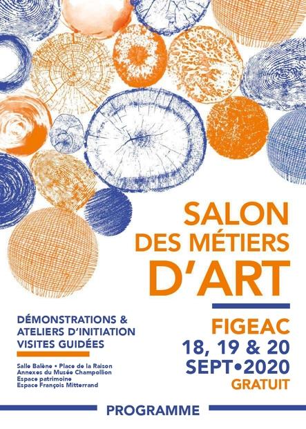 Salon des Métiers d'Art les 18, 19 et 20 sept. à Figeac