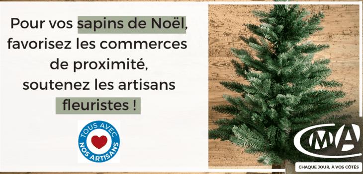 Pour vos sapins de Noël, soutenez vos artisans fleuristes