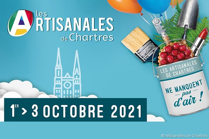 Le plus grand Salon dédié à l'artisanat aura lieu du 1er au 3/10 à Chartres