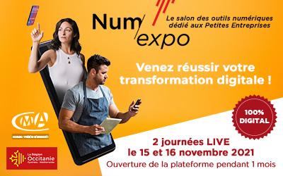 Num'Expo : un salon 100% digital dédié aux TPE