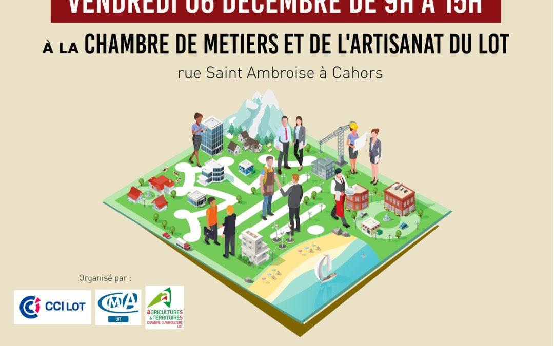 """Forum """"Entreprenez dans le Lot"""" 2019"""