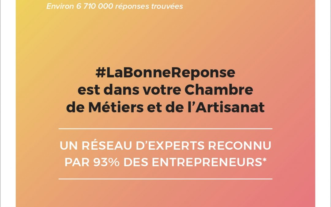 #LaBonneReponse