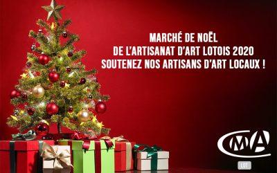 Marché de Noël de l'Artisanat d'Art 2020 – 100 % Lotois et Virtuel