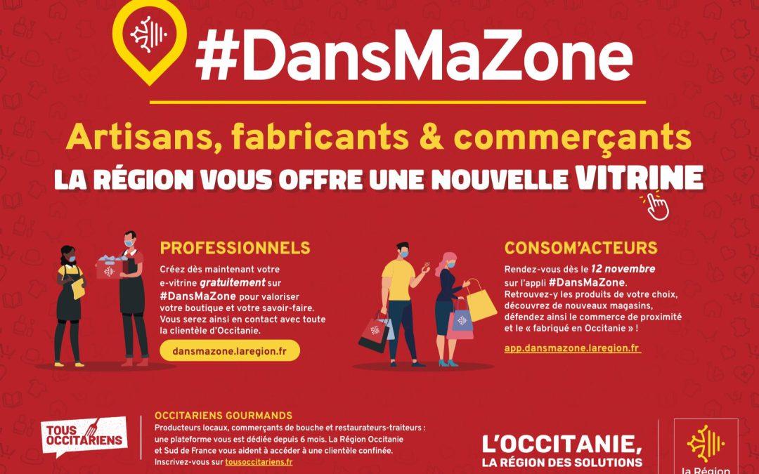COVID-19 / Artisans, Commerçants, Fabricants – la Région Occitanie vous offre une nouvelle vitrine