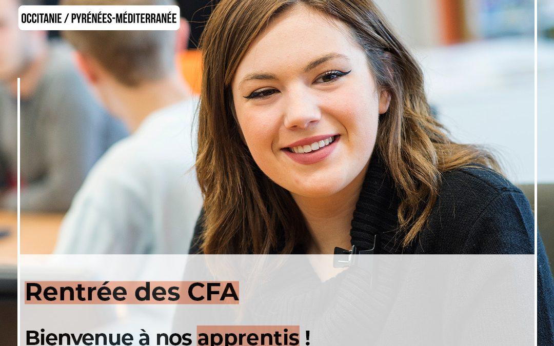 Bienvenue à nos apprentis ! la CMAR Occitanie, n°1 de l'apprentissage dans la région