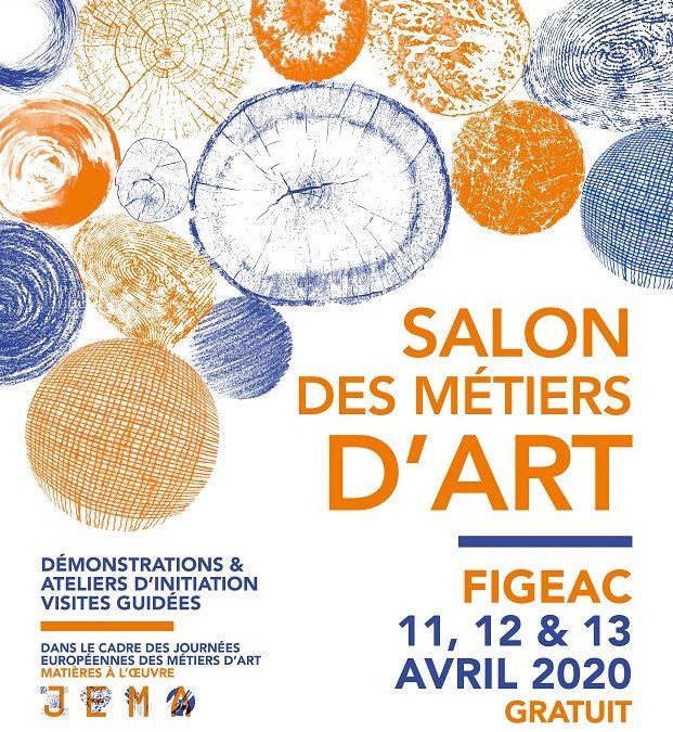Salon des Métiers d'Art, les 11, 12 et 13 avril 2020 à Figeac