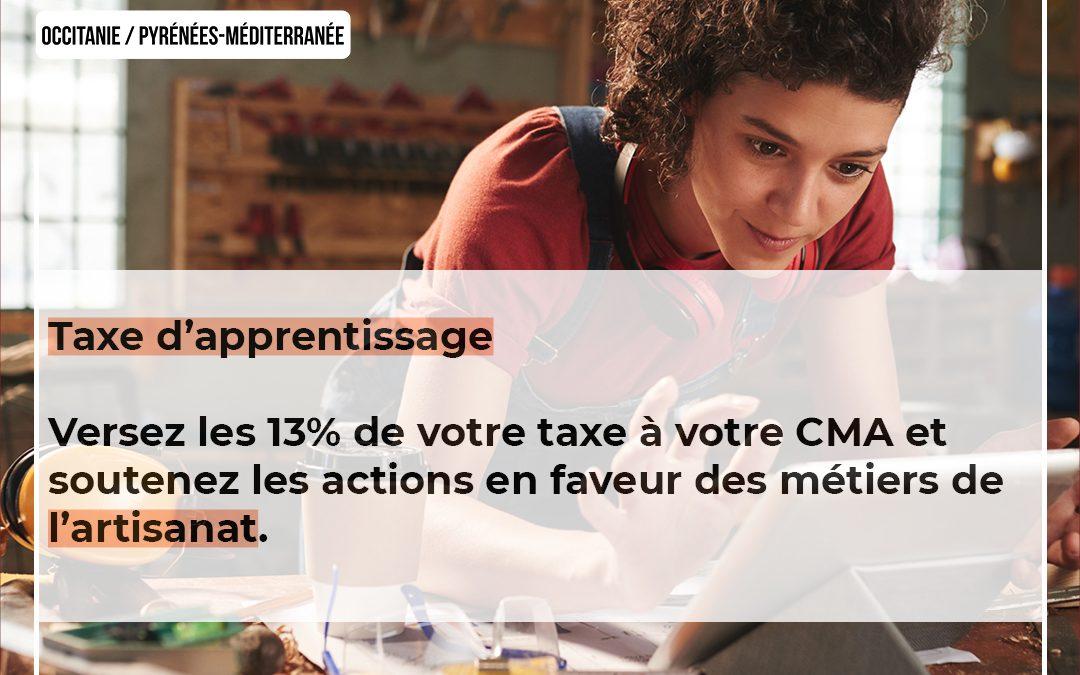 Soutenez l'artisanat avec votre Taxe d'Apprentissage 2021